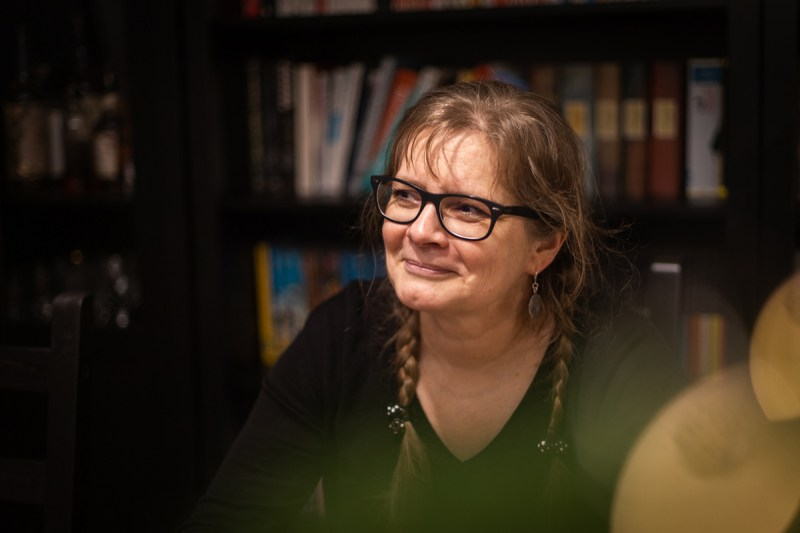 Kirjailija Mari Siliämaa