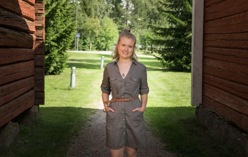 Nuortenkirjailija Eveliina Hokkanen