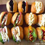 【コストコ食材活用】ディナーロールのサンドイッチ弁当