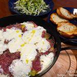 【コストコクッキング】アボカドとサラミのチーズ焼きのおつまみ晩ごはん