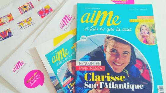 """""""AIME et fais ce que tu veux"""", le magazine 100% féminin et chrétien #55"""