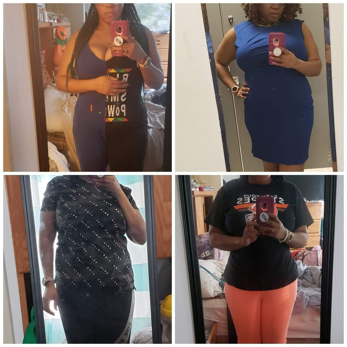 Waist Training Before and After Photographs