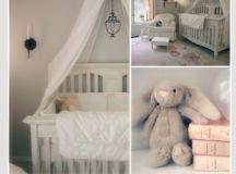 Baby girl nursery ideas - pink - grey and white theme ...