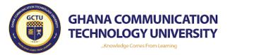 Ghana Technology University College Admission Letter 2021/2022
