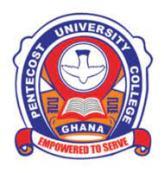 Pentecost University College Admission Letter 2021/2022