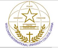 WIUC Admission Form 2021/2022