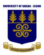University of Ghana 2022 Student Handbook