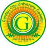Garden City University College Admission Letter 2021/2022