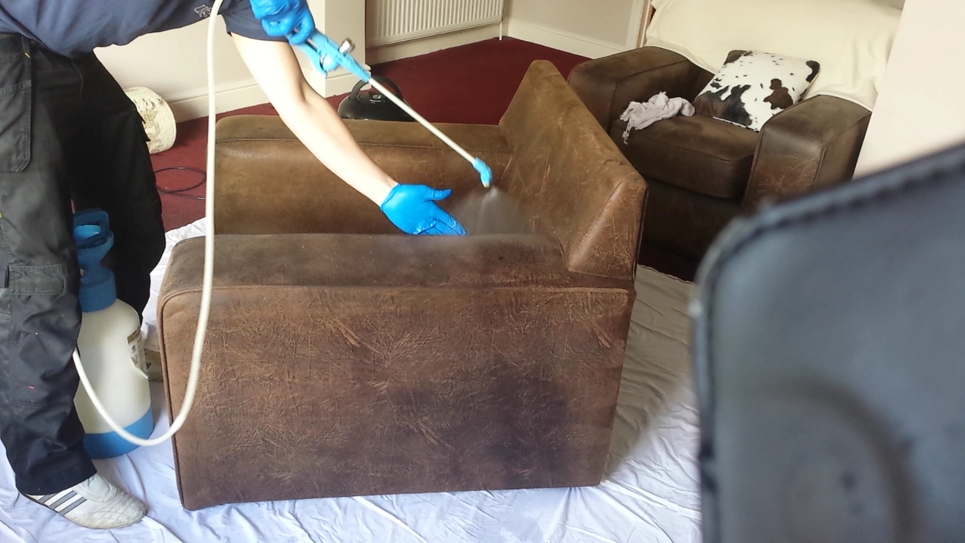 professional sofa cleaners belfast modern pull out sleeper kesgrave carpet care  upholstery cleaning