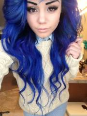 dark-blue-hair-color-curly-wavy-colored-hair-wallpaper