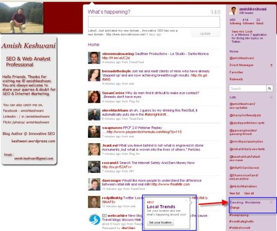 Twitter Update 2010