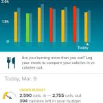 Skrze mobilní aplikaci můžeš sledovat dosažené výsledky