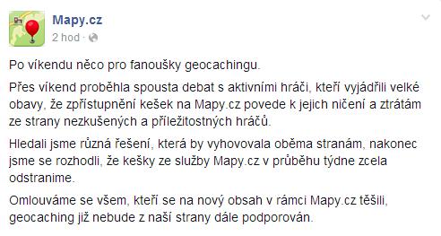 Mapy.cz vyklízejí pozice