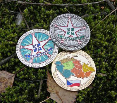 Czech Reviewers Geocoin