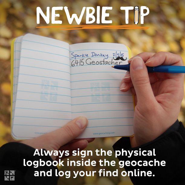 Vždy se zapiš do fyzického logbooku a na web!