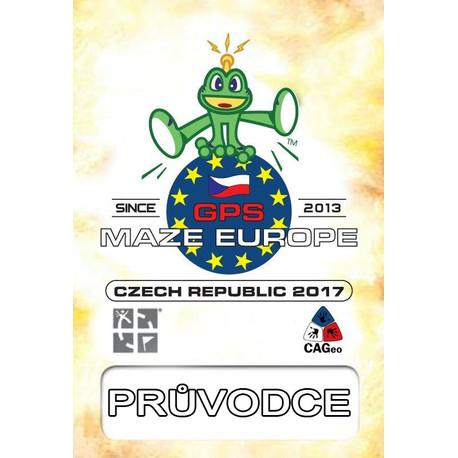 Průvodce výstavou GPS Maze Europe - česky