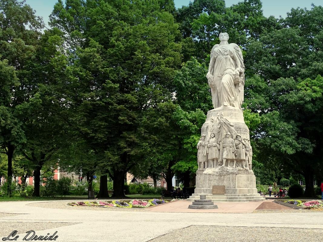 hommage aux morts de Belfort