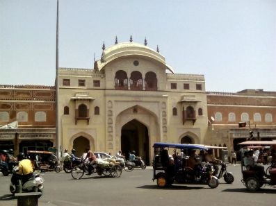 jaipur city palace circulation inde du nord
