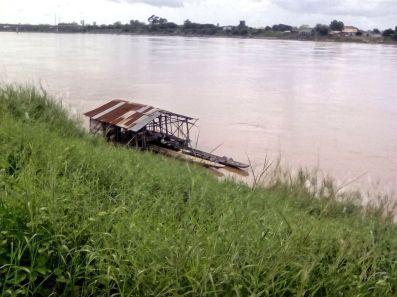nong khai mekong embarcation thailande