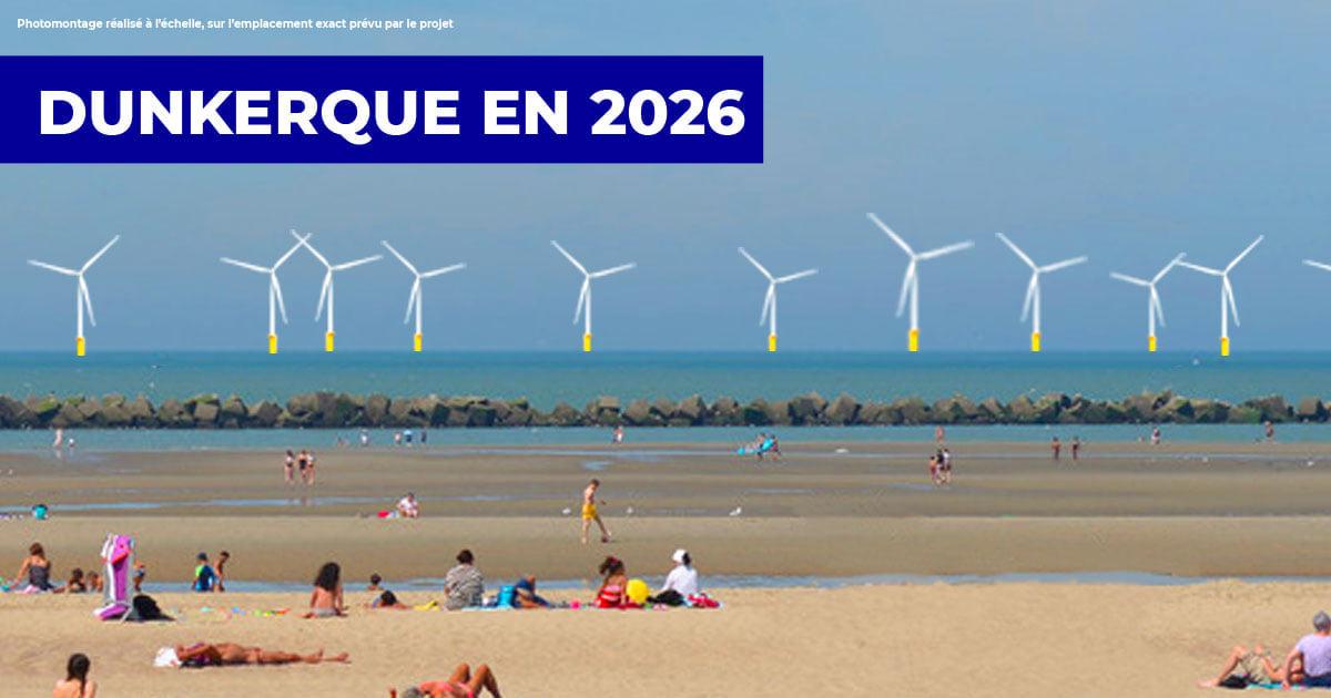 Fin des réunions publiques pour le projet de parc éolien en mer