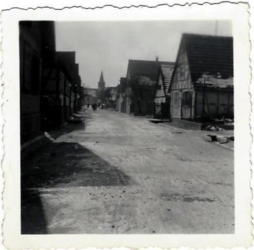 Rue principale du Village