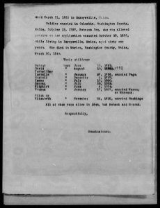 52 Ancestors 11 David Reynolds Sr  Of Loons and Lady Slippers