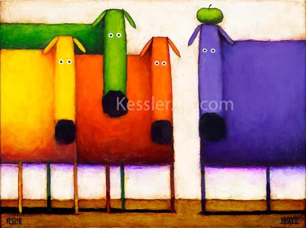 Rainbow Dogs 72