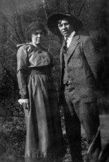 Grandma and Grandpa before the war looking dazzling.