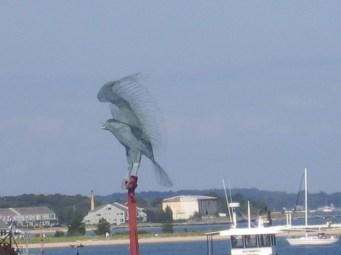 Osprey sculpture, Greenport, NY