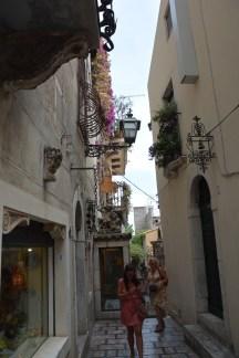 passantes à Taormina