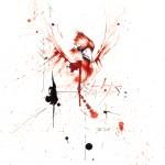 Kardinális - tus, golyóstoll, papíron, 21x29,7 cm
