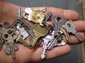 Random Group of Old Keys