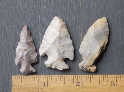 Native American Indian Arrowheads