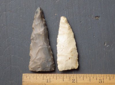 Midwest Native American Triangle Points