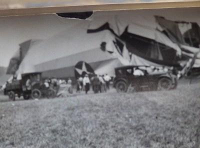 Shenandoah Zeppelin Crash Photographs 1925