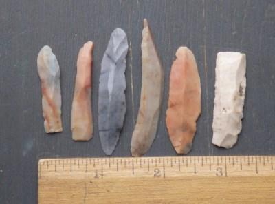 Flint Ridge Flake Knives / Bladelets