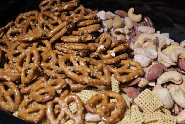 Uncooked Chex Mix