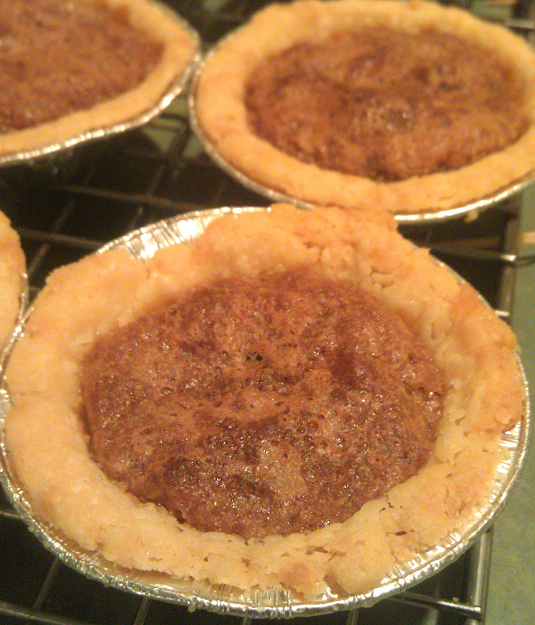 Cranberry Maple Butter Tarts