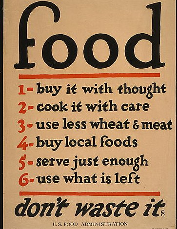 Food for thought (from 1917)