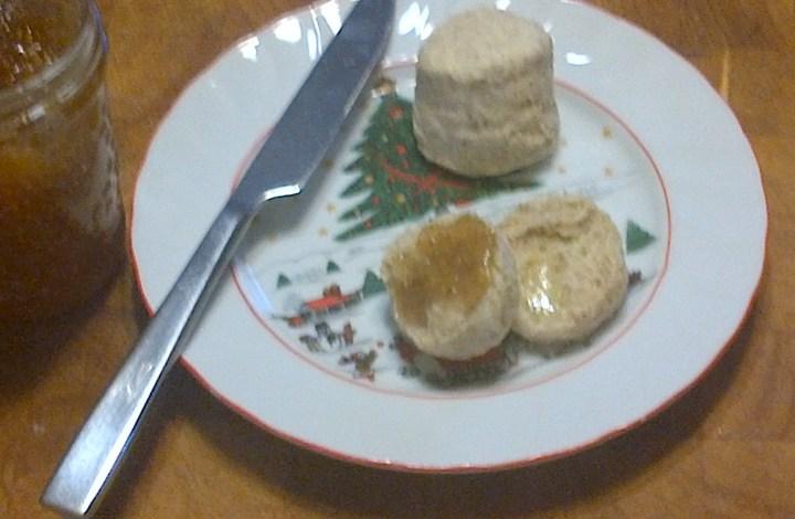 Olive Oil Tea Biscuits