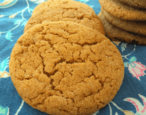 Easy Gingersnap Cookies