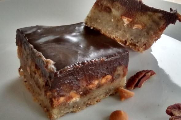 Butterscotch Pecan Bars