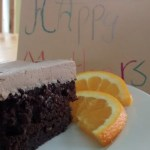 Chocolate Orange Zucchini Cake