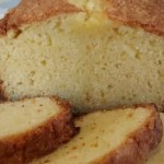 Orange Sour Cream Pound Cake