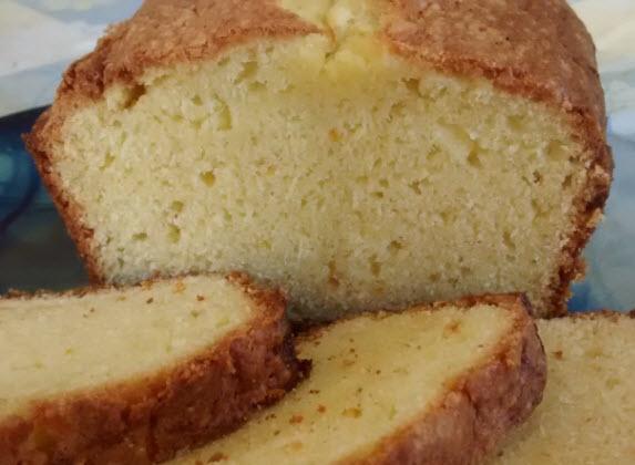 Orange Sour Cream Pound Cake
