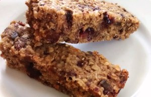 Apple Oatmeal Power Bars