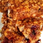 Pumpkin Oat Power Bars