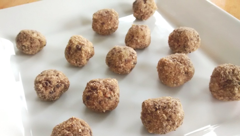 Oatmeal Chocolate Chip Cookie Dough Bites