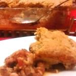 Easy Bean and Corn Pie