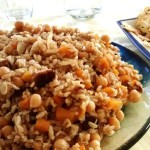 Rice Salad with Dates, Chickpeas and Butternut Squash